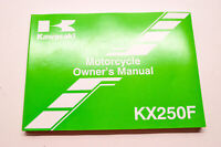 OEM Kawasaki 99987-1770 Owner's Manual KX250ZEF NOS