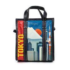 """NWT BALENCIAGA Leather """"Bazar Tokyo Shopper"""" Tote Bag $1950"""