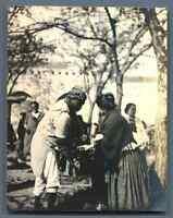 Tunisie, Tunis (تونس), Scènes et Types  Vintage silver print.  Tirage argentiq