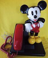VINTAGE AT&T WALT DISNEY MICKEY MOUSE DESK TABLE TELEPHONE TRIMLINE WORK