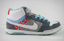 NIKE AIR 6.0 DUNK Shoes Womens Size 7 1/2 Light Blue, White, Gray