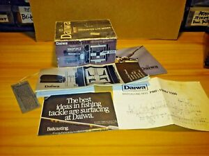 Daiwa.  PMF 1000, Reel box with Paper work. Vintage.  BOX ONLY.