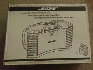 Bose Acoustic Wave Music System Power Case New in box