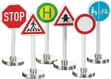 SIKU Road Signs signage Die-Cast Toy stop crossing +NEW