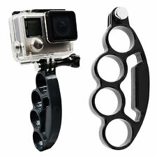 Knuckle Hand Finger Grip Holder Mount Holder Selfie for GoPro 4 3+ 3 2 Hero
