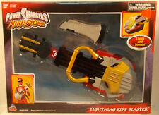 Power Rangers Ninja Storm - Lightning Riff Blaster Guitar Electronic Sounds MISB