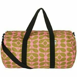 Orla Kiely Sixties Stem Packaway Kit Bag Lightweight Duffel Large Holdall BNWT