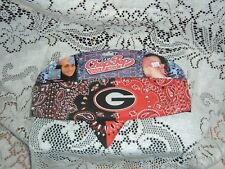 UNIVERSITY OF GEORGIA BLING CHOP TOP DOO WRAP HEADBAND ONE SIZE NEW BULLDOGS