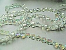10 METRES Garland Diamond iridescent String Acrylic Crystal Bead Wedding