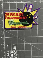 American Bowling Congress ABC 1998 Tournament Fitzgeralds Reno Nevada NV Patch
