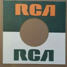 RCA STRAIGHT TOP MID 60s ERA REPRODUCTION RECORD SLEEVE PACK OF 10