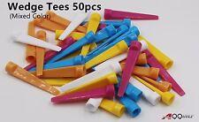 A99 Golf Wedge Tees Mix Color 50pcs