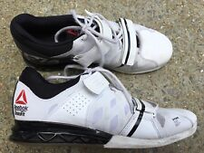 REEBOK CROSSFIT LIFTER PLUS 2.0 M43655 WHITE BLACK RUNNING MENS SHOES US SIZE 10