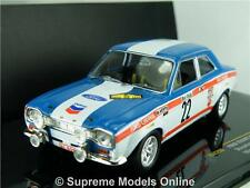 IXO Ford Escort MK1 coche modelo escala 1:43 Rally Racing Ypres 1970 RAC206 K8