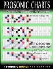 Fretboard Chord Charts for Guitar : In Altered Tuning: 4ths by Tony Pappas...