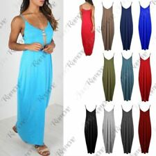 Viscose V-Neck Draped Dresses for Women