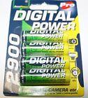 8 x AA AccuPower 2900mAh NiMH Batteries - suit Minelab, Garrett, Whites, Nokta
