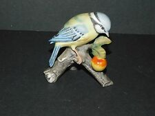ROYAL OSBORNE PORCELAIN PAINTED BLUE TIT FIGURINE