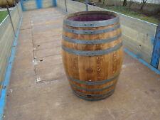 Regentonne Holzfaß Barriquefaß Weinfaß gebraucht Regenfaß Gartenfaß Wassertonne