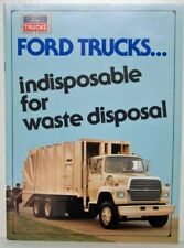 1987 Ford Trucks Indisposable for Waste Disposal Sales Brochure