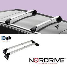 NORDRIVE SNAP ALU Barre Portatutto Portapacchi Auto per FIAT DOBLO 2 - 2010+