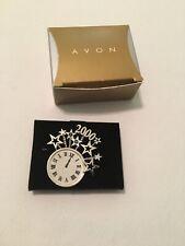 Clock Pin, 1999 Avon 2000 Millennium