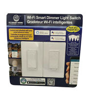 CE Smart home Wi-Fi Smart Dimmer Light Switch: 2 Pack