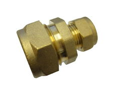 1/2 Inch 7lb Lead Pipe to 15mm Copper Pipe Coupler / Connector