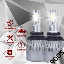 NEW 9005 HB3 8000K Ice Blue 8000LM CREE LED Headlight Bulbs Kit High Low Beam