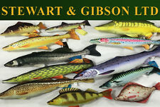 GABY Fish Carp, Cod, Pike, Salmon, Flounder, Seabass, Brown Trout Fishing Pillow
