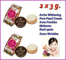 2 x 3 g. Arche Whitening Pure Pearl Cream Acne Freckles Melasma Dark spots Scars
