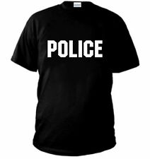 T-SHIRT POLICE maglia C.I.A. FBI LAPD CSI NEW YORK RIS polo felpa maglietta NE