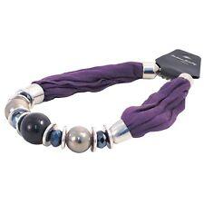 Bufanda Collar Bold Grano-Púrpura