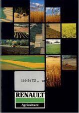 Renault Tractor 110-54 TZ - 16 Operators Manual