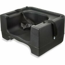 New ListingCarlisle 7114 Dual Height Black Booster Seat W/ Saftey Strap
