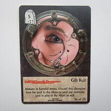 TSR Spellfire CCG Ultra Rare UR Chase - Gib Kcir 16/25