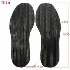 Mens DIY 1 Pair  Stick On Soles Heel Palm Shoe Repair Anti-Slip Grip-Rubber Grip