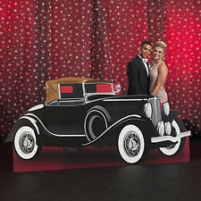 Vintage Hollywood Car Standee, Hollywood theme CARDBOARD CUTOUT Photo  Prop