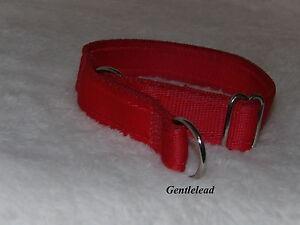 Comfy Cushion Webbing Alaskan / Canadian Style Semi Slip Collar Half Check