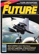FUTURE #1 - 1978 magazine - Chesley Bonestell, Doug Trumbull, Fred Pohl, Asimov