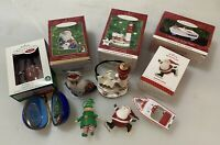 Lot of 6 Vintage Hallmark Keepsake Christmas Ornaments Good Condition