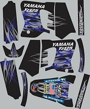 Graphics for 1993-1995 Yamaha YZ125 YZ 125 Decal fender shrouds Stickers