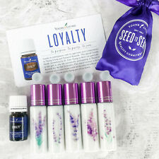 Young Living LOYALTY Essential Oil 5 ml Pouch Limited & 10ml Glitter Roll-ons