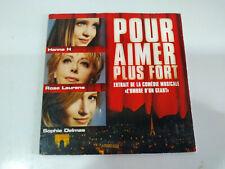 Hanna H Rose Laurens Sophie Delmas Pour Aimer Plus Forte - Single CD
