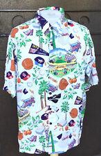 REYN SPOONER Anaheim / LA Angels Edison Field MLB Baseball Hawaiian Shirt L