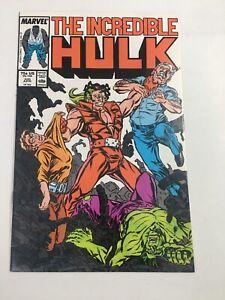 The Incredible Hulk #330 April 1987, 1st McFarlane VF+ Marvel