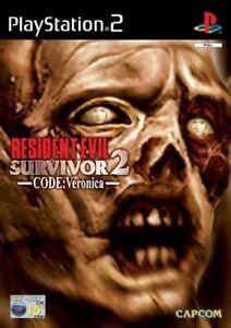 Resident Evil Survivor 2 Code Veronica - PLAYSTATION 2 - PRE-OWNED