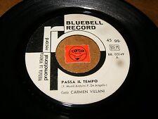 CARMEN VILLANI - PASSA IL TEMPO - ANCHE SE MI VUOI    / LISTEN - BEAT POPCORN