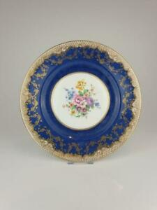 Good Crown Staffordshire Cabinet Plate