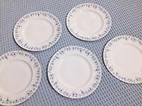 "Royal Albert ""Memory Lane"" large dinner plates"